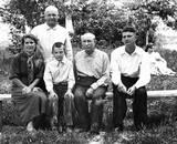 Krasnodar 1967- (L-R) Raya, Ivan, Slava, Rodion, Viktor