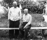 Krasnodar 1967- Rodion with brother Ivan