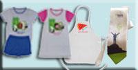 הדפסה על מוצרי הלבשה וטקסטיל, מגבות, פיג'מות, עניב