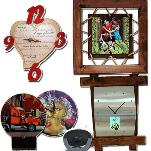 ביג בן הדפסות על שעוני קיר ושעונים שולחניים