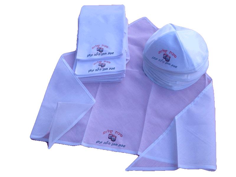 כיסויי ראש לנשים ולגברים עם הדפס
