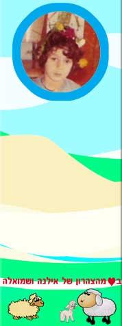 לוח ממו מחיק עם גב מגנטי, בתוספת תמונה והקדשה