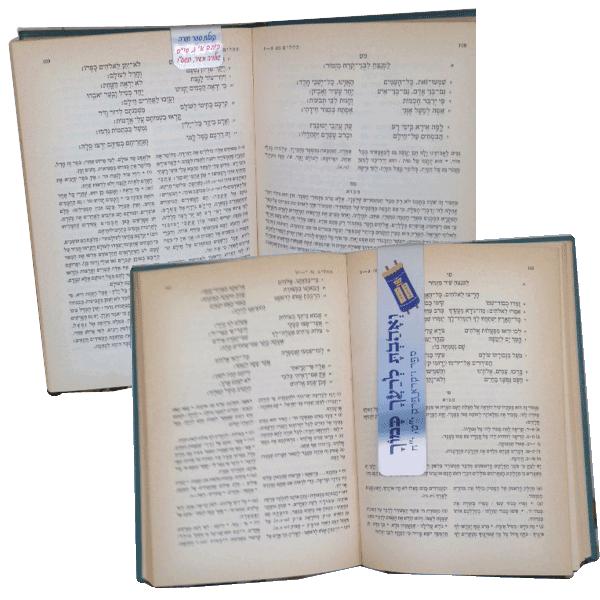 מתנות לטקס קבלת ספר תורה ראשון - חומש בראשית