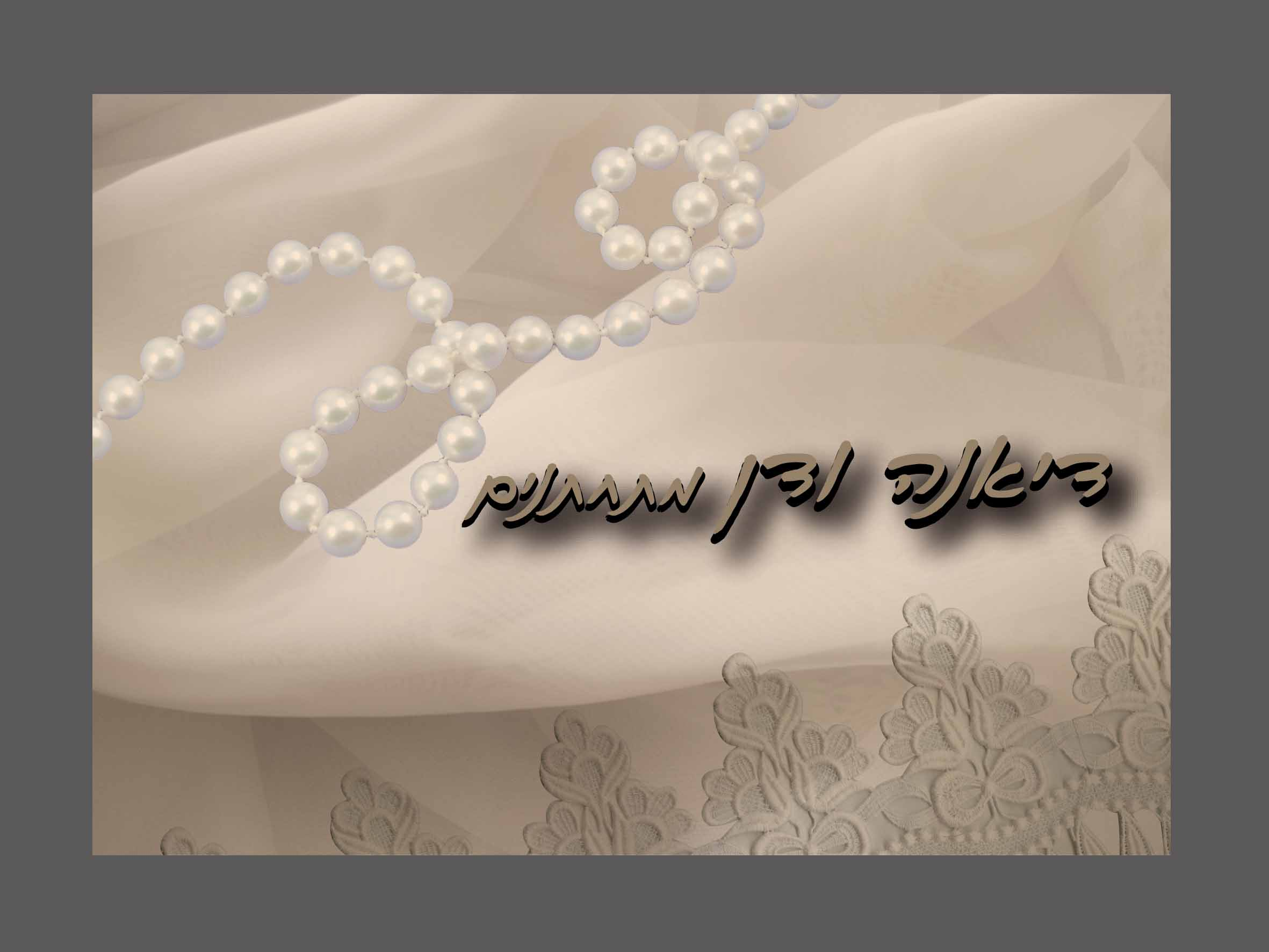 הזמנות לחתונה דיאנה ודן