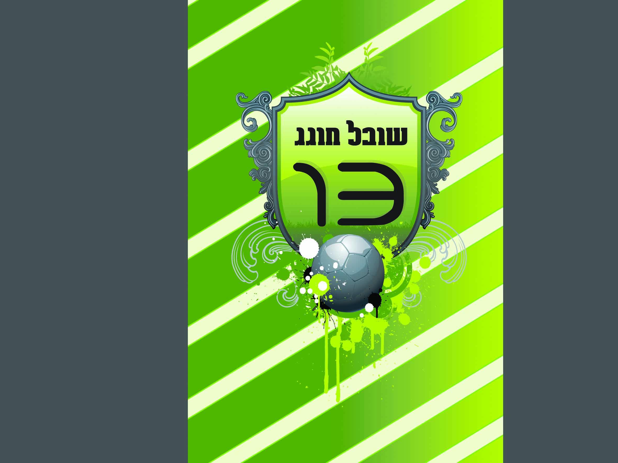 הזמנת בר מצווה 10/15