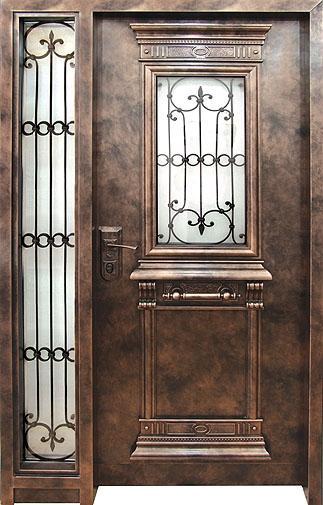 דלת כניסה ארט-נובו 1103