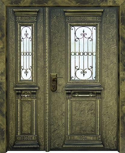 דלת כניסה ארט-נובו 1104
