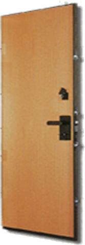 דלת פלדה סגר בריח