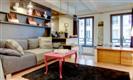 דירה בפריז - דירת חדר שינה וסלון בלב רובע המארה