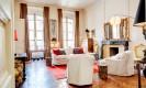 דירה בפריז - דירת שני חדרי שינה, חדר סיפריה וסלון באיזור הלובר