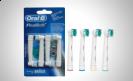 ערכת 4 ראשים להחלפה למברשת שיניים חשמלית אורל בי - Oral-B