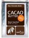חמאת קקאו (454 גרם) Organic cacao butter - נאביטס