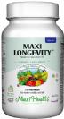 מקסי לונגויטי לגבר (60 כמוסות) - מולטי ויטמין לגברים בגילאי 50+ Maxi Health