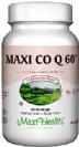 """מקסי Q10 שישים מ""""ג (60 כמוסות) - Maxi Health"""