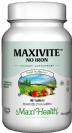 מקסי ויט ללא ברזל (90 טבליות) - Maxi Health