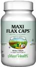מקסי פלקס קאפס (90 כמוסות רכות) - Maxi Health Flax Caps