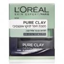 "LOREAL - מסכת חימר Pure Clay פיור קליי לניקוי אינטנסיבי (50 מ""ל) - לוריאל"