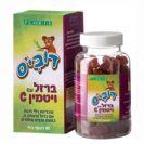 דובי'ס ברזל בתוספת ויטמין סי (60 דובונים) - פלוריש