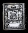 Book of Psalms with an amazing fine sterling silver cover