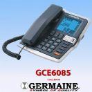 טלפון שולחני + שיחה מזוהה + רמקול מבית GERMAINE דגם GCE6085