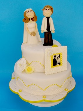 עוגת קומותיים 40 שנות נישואים