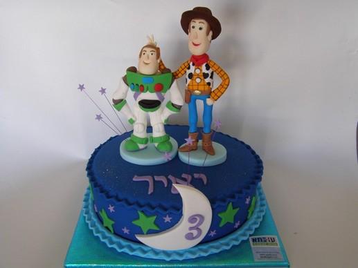 עוגת צעצוע של סיפור של יאיר