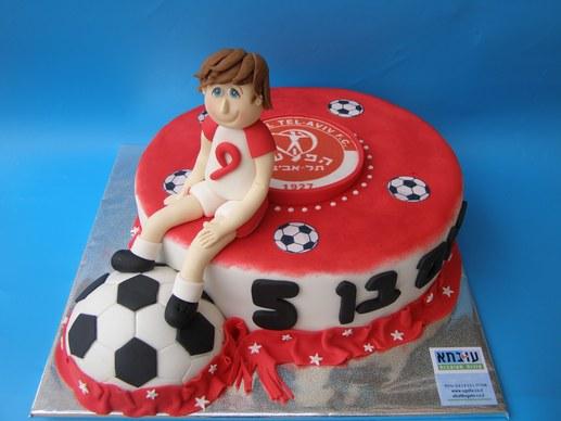 עוגת הפועל תל אביב לרום