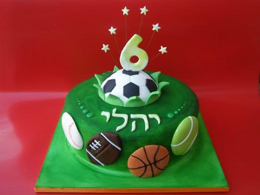 עוגת ספורט של יהלי