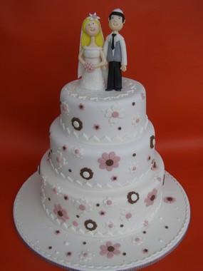עוגת חתונה של מאיה ועודד