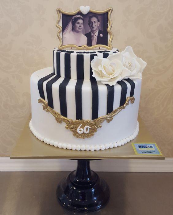 עוגה ל60 שנות נישואים