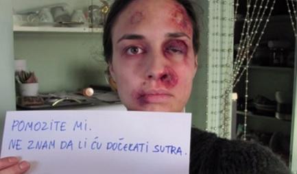 אישה מוכה, יום המאבק באלימות נגד נשים