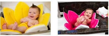 אמבטית פרח לתינוקות לכיור