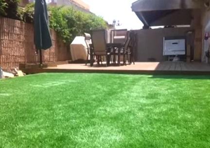 בריכה נסתרת מתחת לדשא