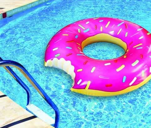 גלגל ים בצורת דונאט שמישהו נתן בו ביס