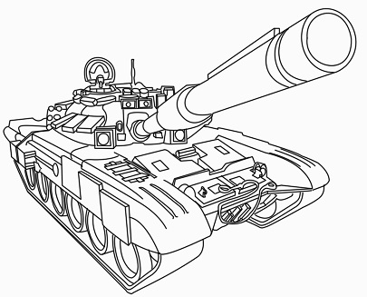 דף צביעה טנק