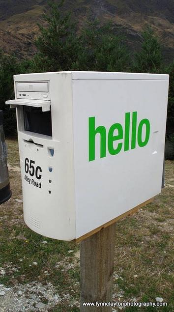 תיבת דואר ממחשב