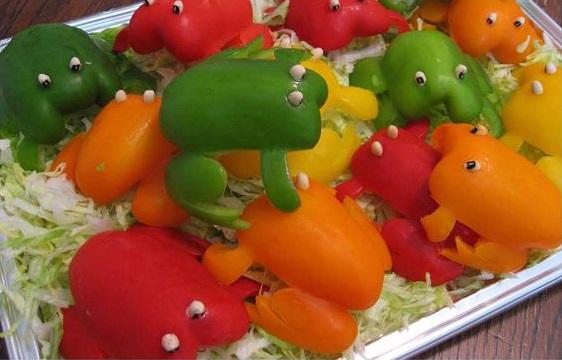 צפרדעים מפלפלים