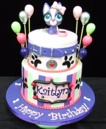 עוגת פט שופ ליום הולדת