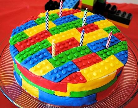 עוגת לגו חמודה