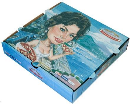 קופסת פיצה סופיה לורן