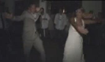ריקוד בחתונה של הזוג