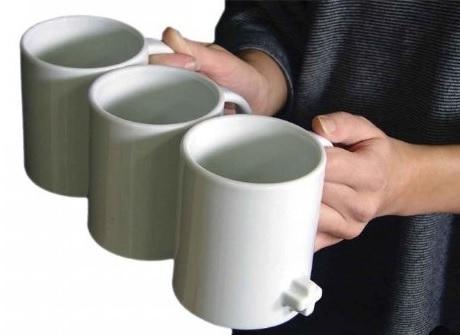 ספלי קפה מחוברים