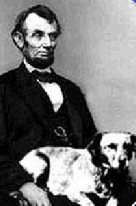 אברהם לינקולן וכלבו פידו