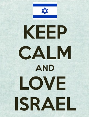KEEP CALM & LOVE ISRAEL