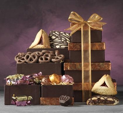 משלוח מנות בייגלה מצופה שוקולד