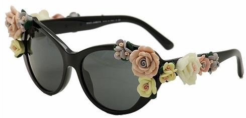 משקפי שמש פרחים דולצ'ה וגבאנה