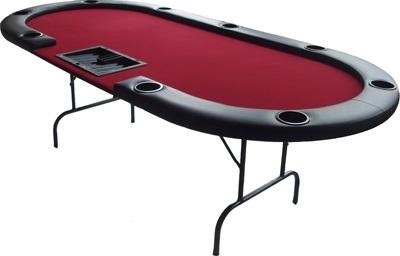 שולחן פוקר כולל עמדת דילר