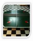 שולחן פינג-פונג מרובע
