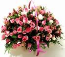סלסלת ורדים