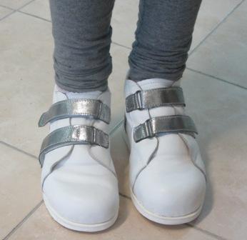 נעל לבנה